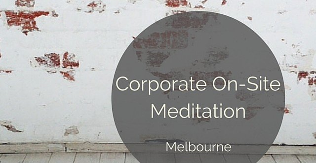 corporate meditation onsite