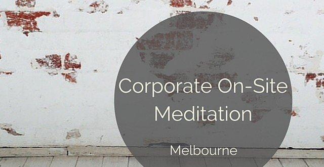corporate meditation onsite