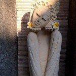 Bali Girl Statue