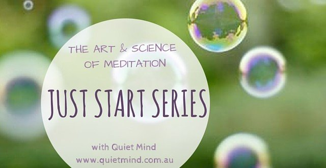 Just Start Meditating Series
