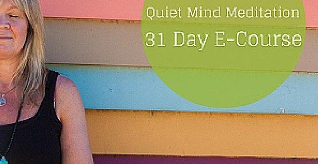 Quiet Mind 31Day Meditation eCourse