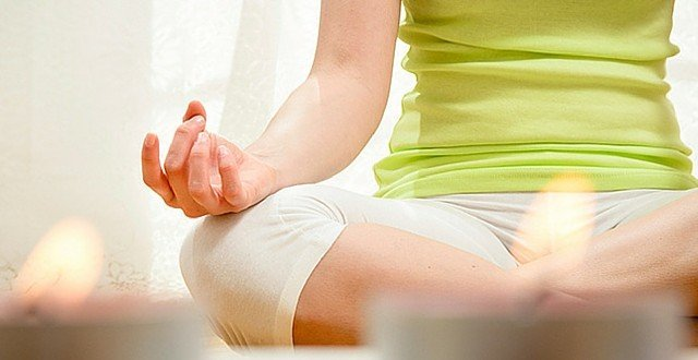 Quiet Mind Meditation Yoga Posture Hand Mudra
