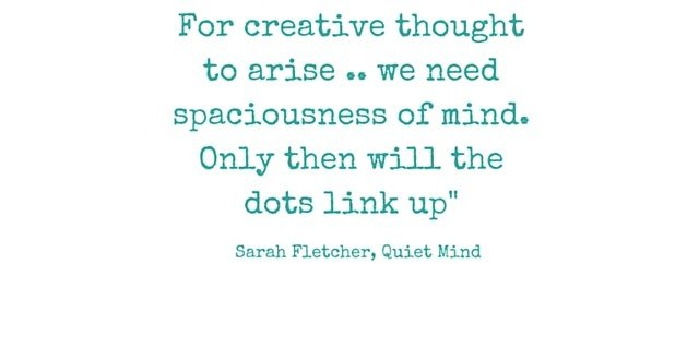 Quiet Mind Quote Creativity