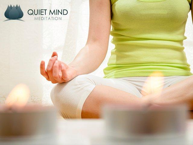 yoga posture hand mudra Quiet Mind Meditation