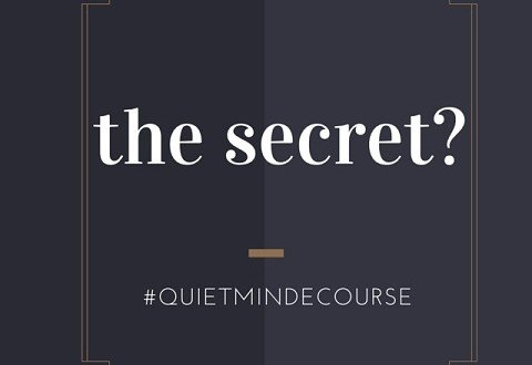 the secret meditation ecourse quietmind