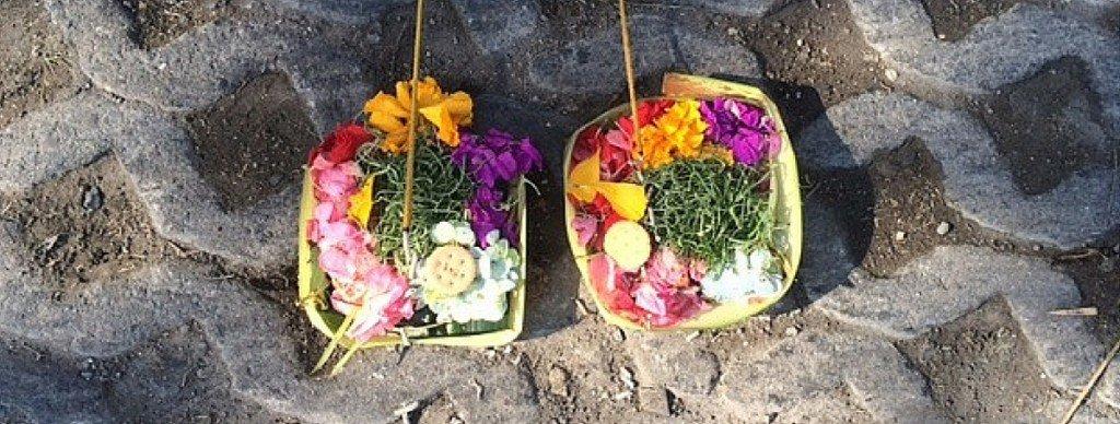 Canang sari Bali Offerings