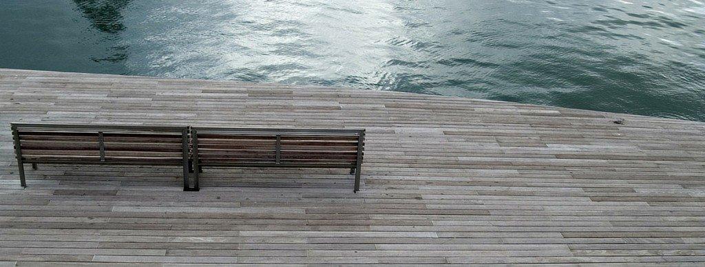 meditation by the boardwalk