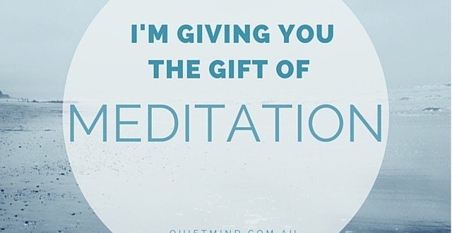 Gift Certificate Meditation
