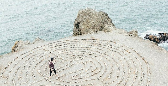Planning Retreat Meditation Labyrinth