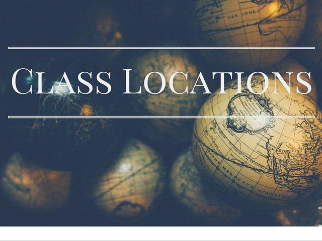 Class Locations Meditation