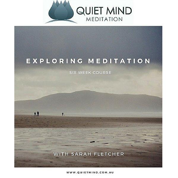 Exploring Meditation Course