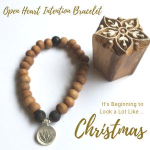Open Heart Intention Bracelet
