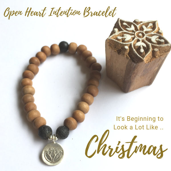 Open Heart Intention Bracelet