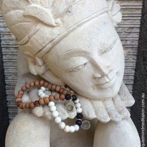 Meditation Intention Bracelet Sandalwood Hoplite