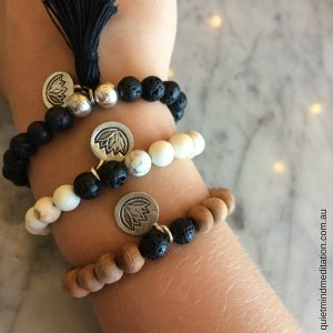 Meditation Intention Bracelets Trio Bali