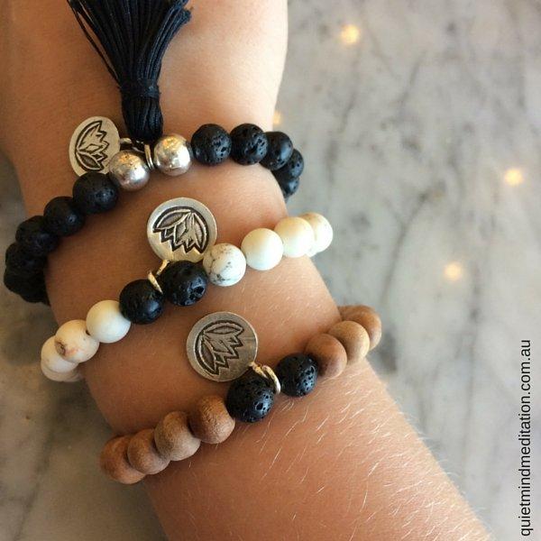 Meditation Intention Bracelets Trio Bali