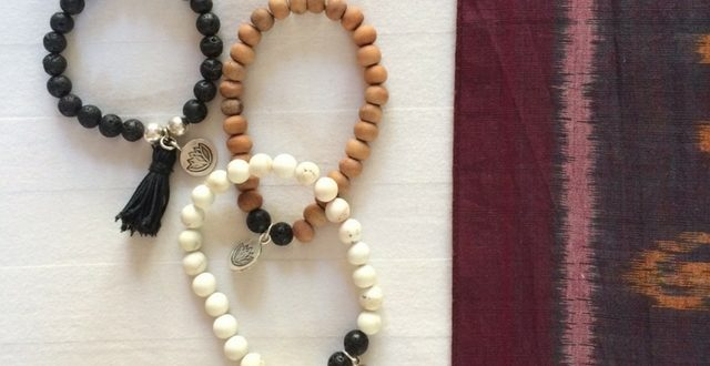 Meditation Intention Bracelets
