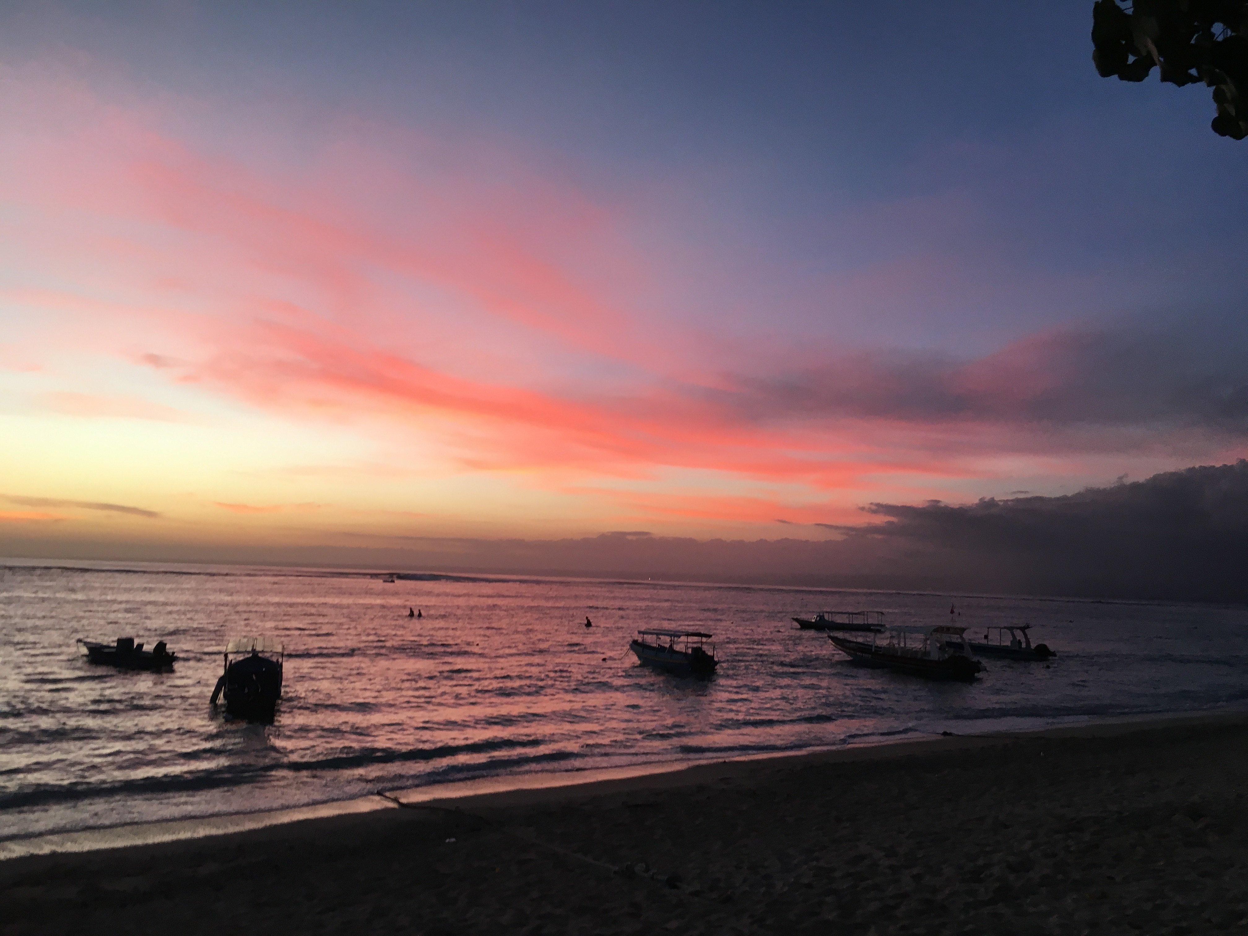Sunset Lembongan