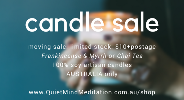 candle sale meditation