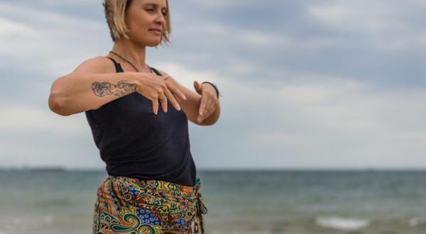 Qigong Balaclava Meditation Mindful Movement