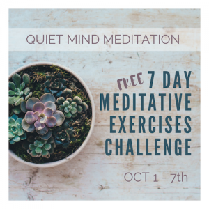 Meditative Exercises 7Day Challenge