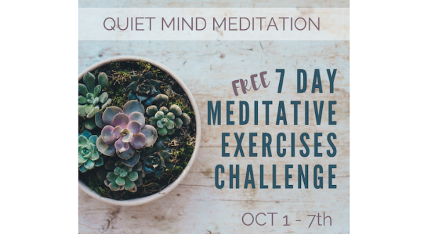 7DayMeditativeExercisesChallenge