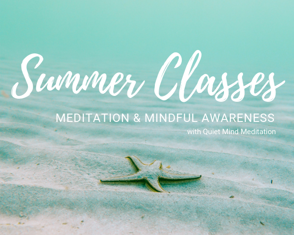 Summer Meditation Schedule