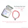 Frankie Box with 'Love' Intention Bracelet