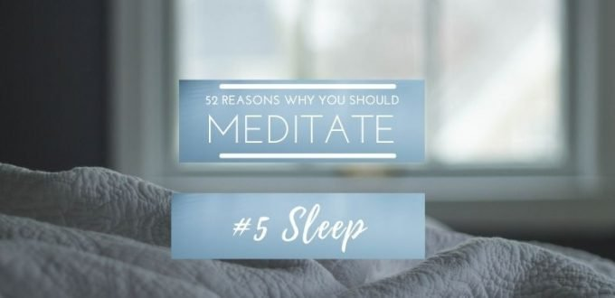 #Meditation52ReasonsWhy