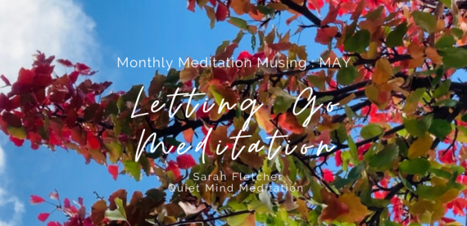 Monthly Meditation Musing